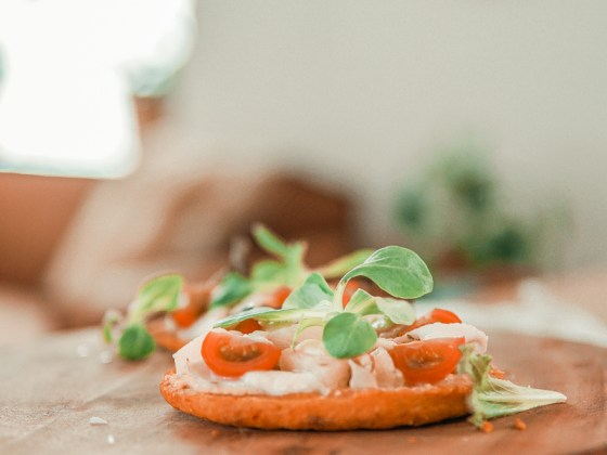 Recept: gezonde, caloriearme pizza op groentebroodjes