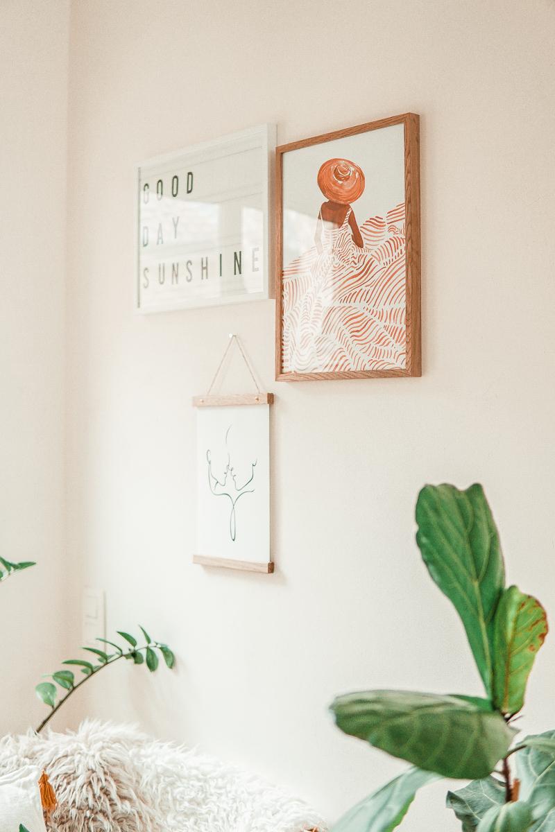 Een make-over met Desenio posters (+ kortingscode)