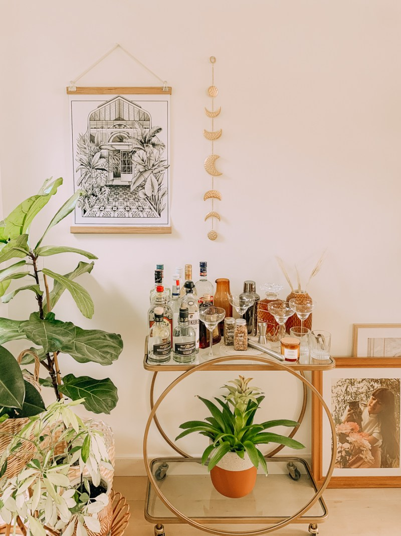 Mijn bar cart & styling