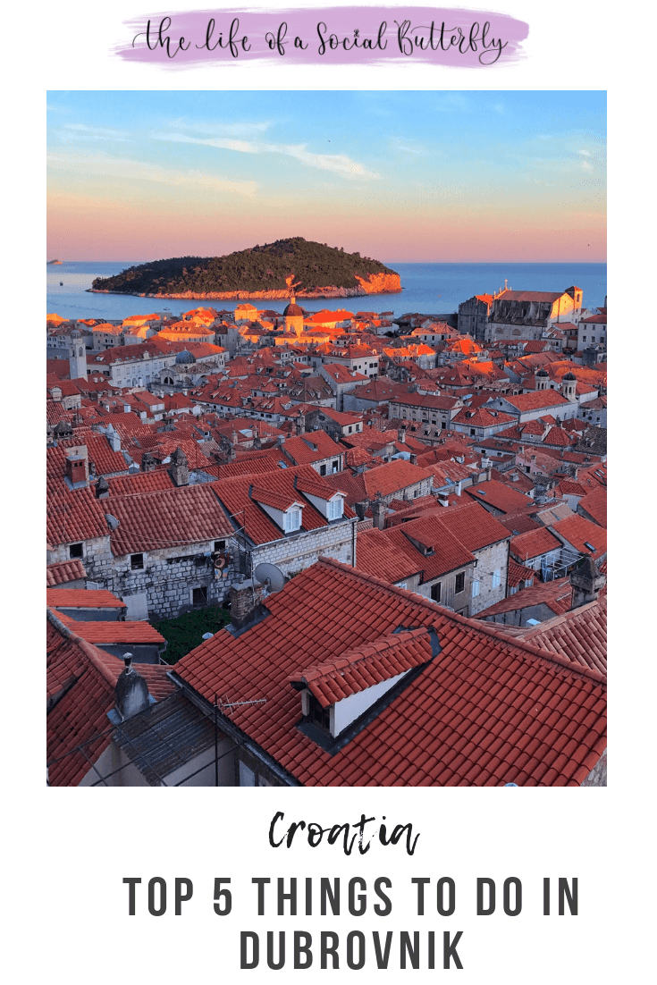 Pinterest Top 5 Things To Do In Dubrovnik