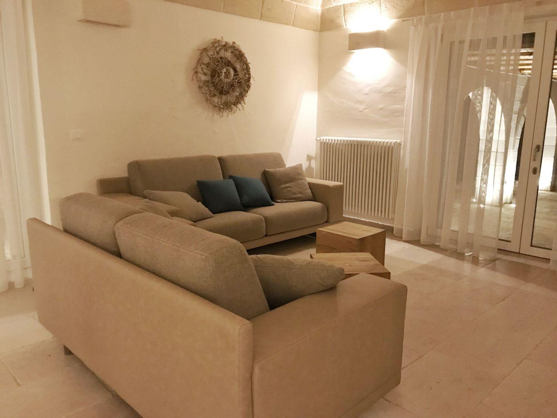 Corte dei Massapi villa living room