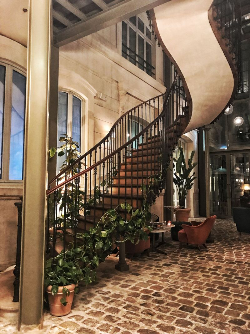 Hoxton Hotel Paris Lobby Staircase