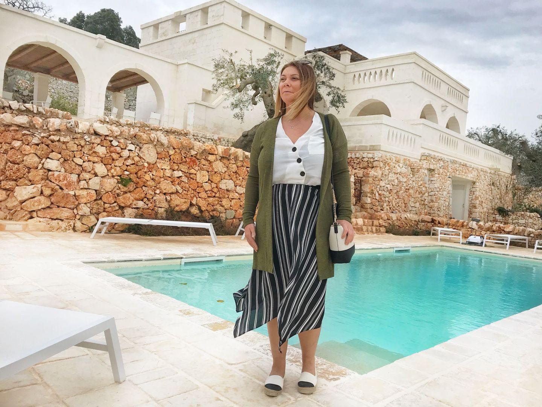 Me at Corte dei Massapi villa Puglia Southern Italy