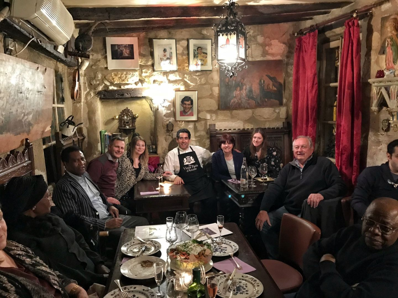 Social Dining at Au Vieux Paris D'Arcole