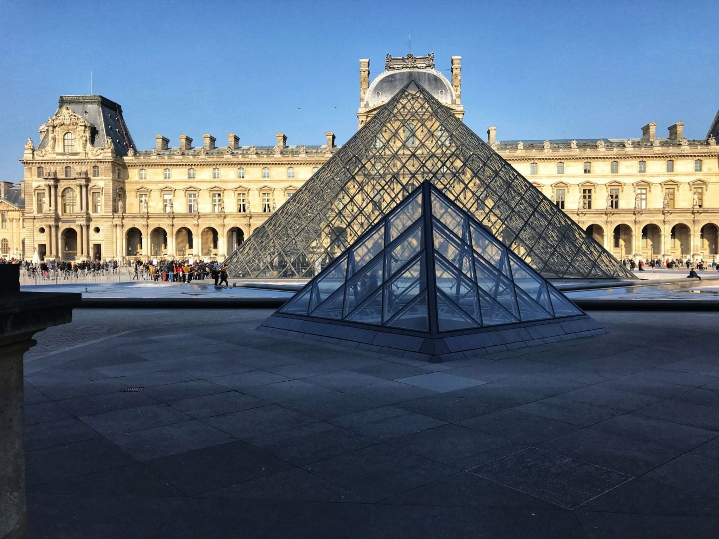 The Pyramids of The Louvre Paris