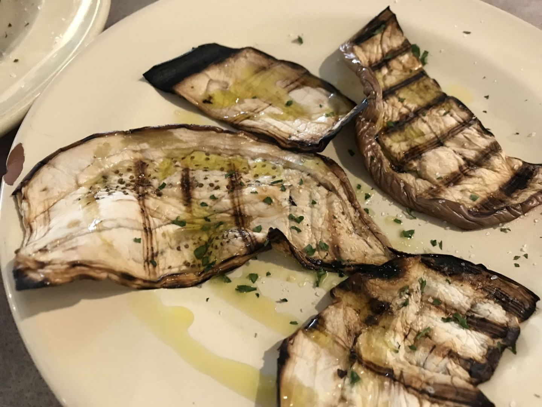 Antipasti in a Puglian restaurant