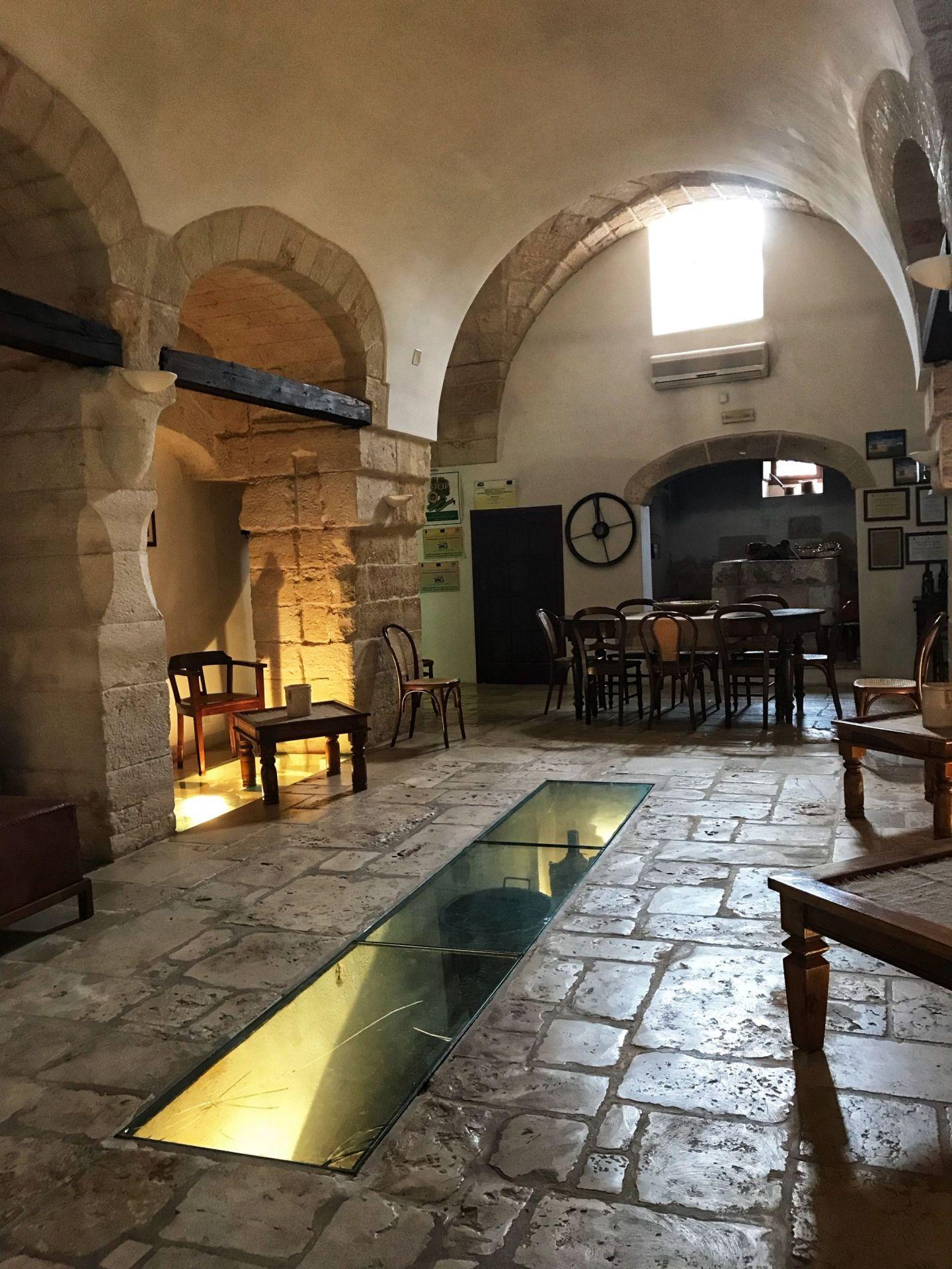 Inside a Maccarone masseria in Puglia