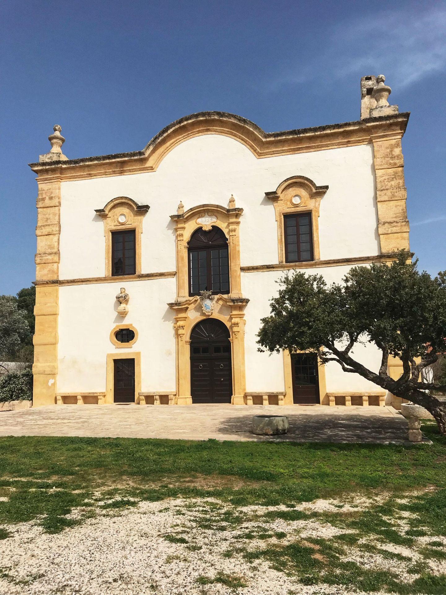 Masseria Maccarone in Puglia Southern Italy