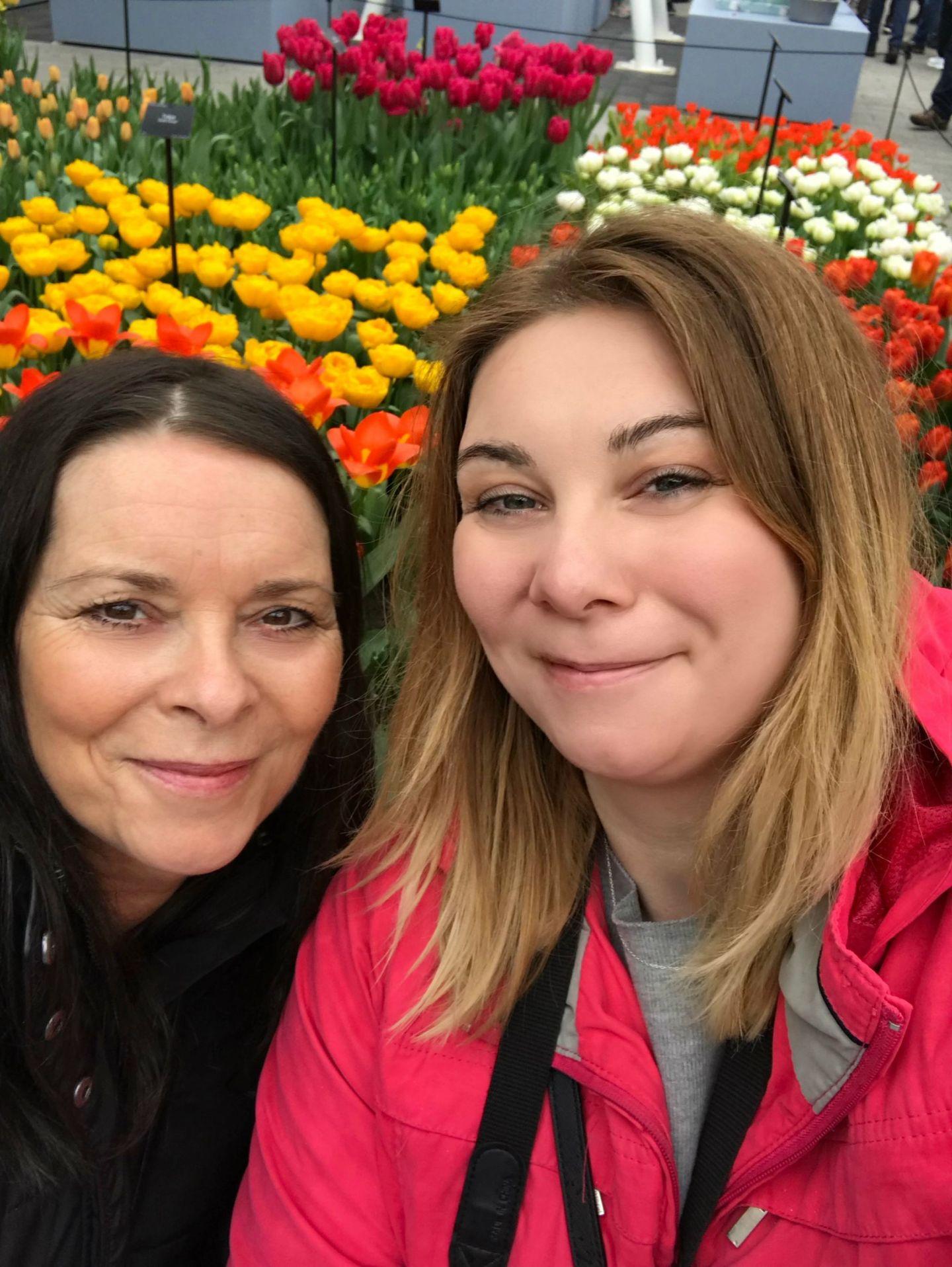 Me and Mum at Keukenhof
