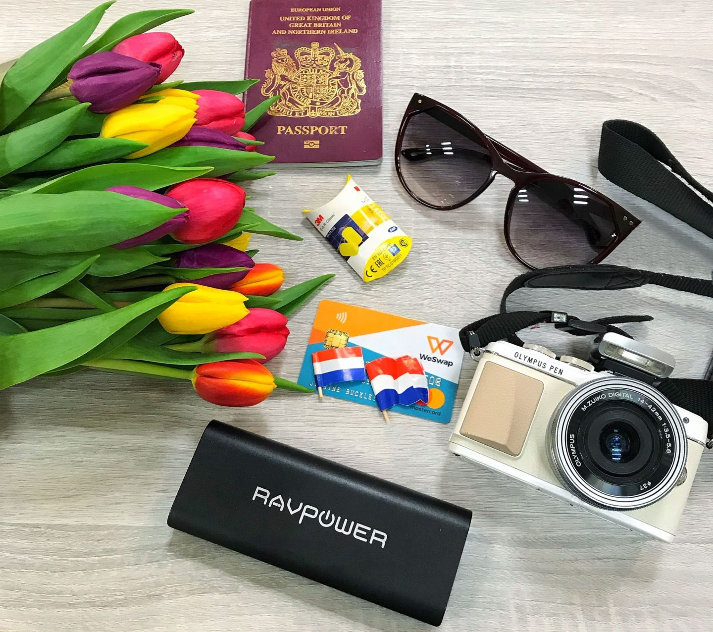 Unpack My Bag of Travel Essentials with WeSwap Currency Card