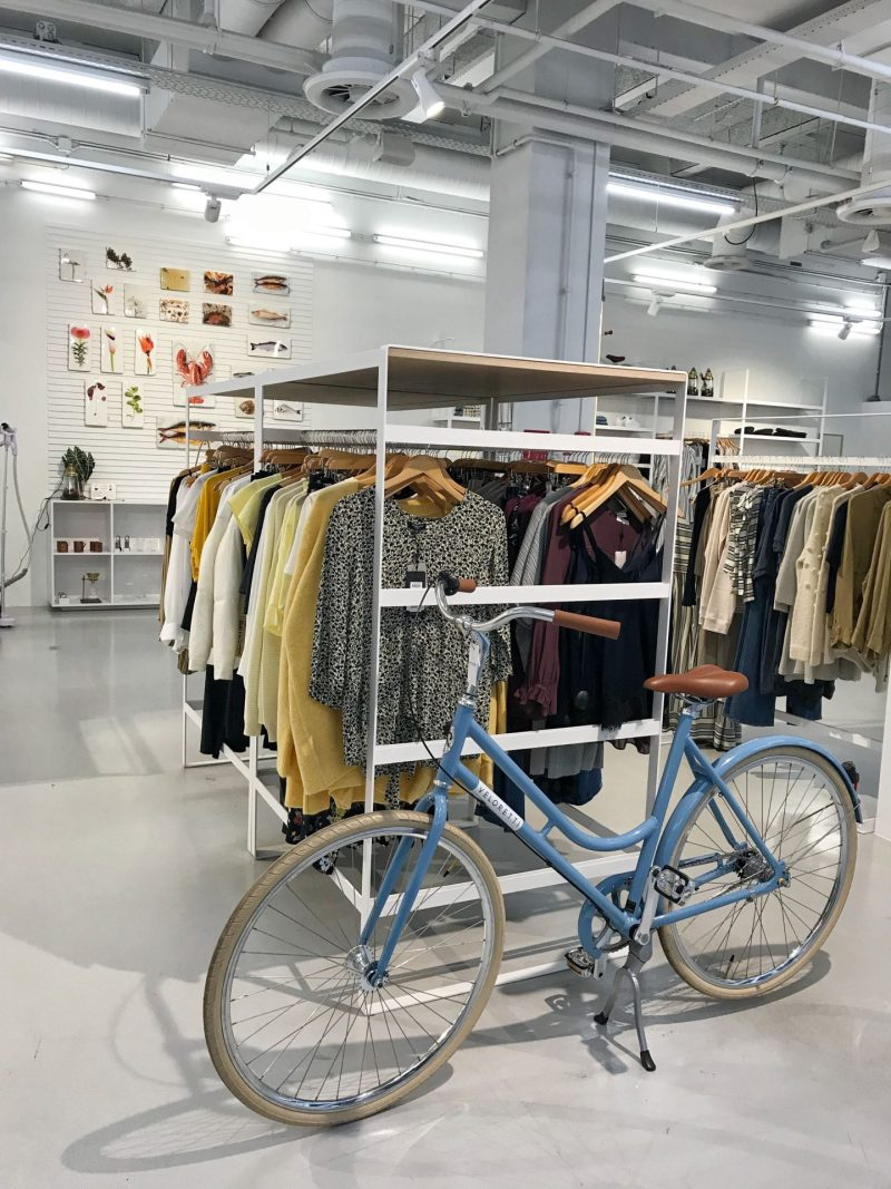 Bikes and boutiques shopping in Eindhoven