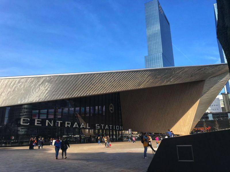 Centraal Station Rotterdam Netherlands