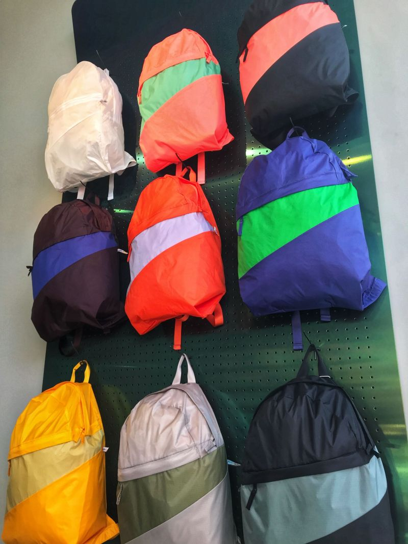 Colourful bags from Susan Bijl 1975 Rotterdam