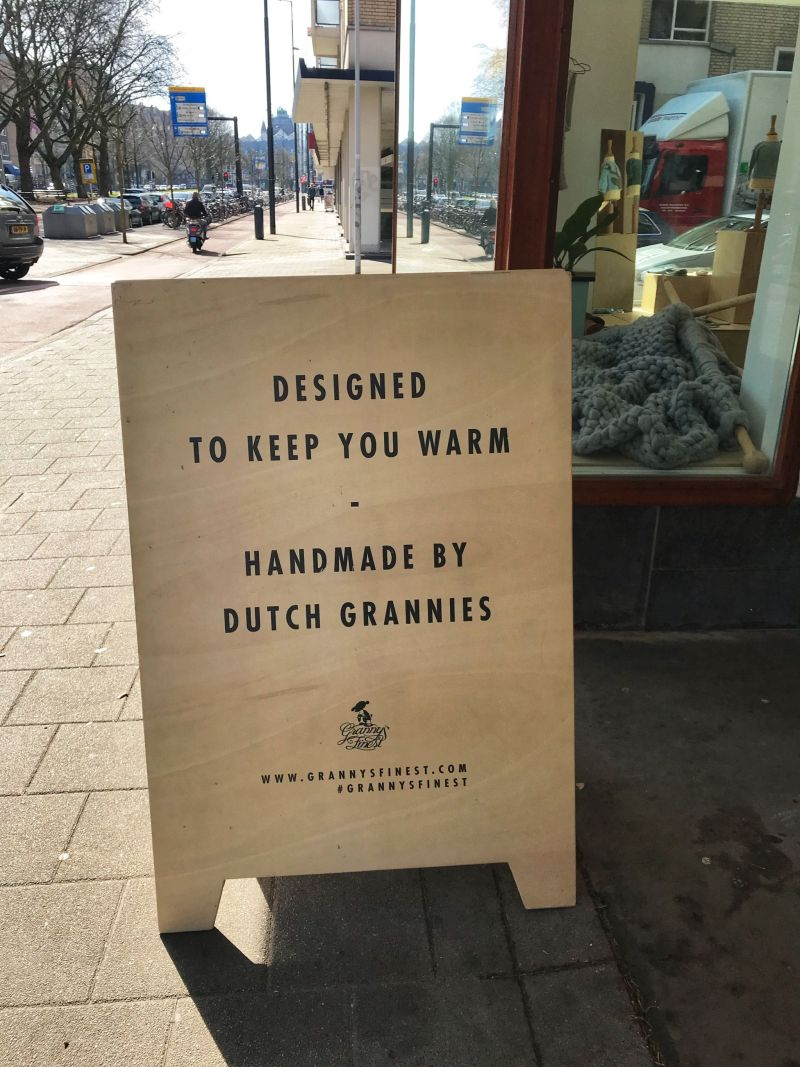 Warm Woolens handmade by Dutch Grannies
