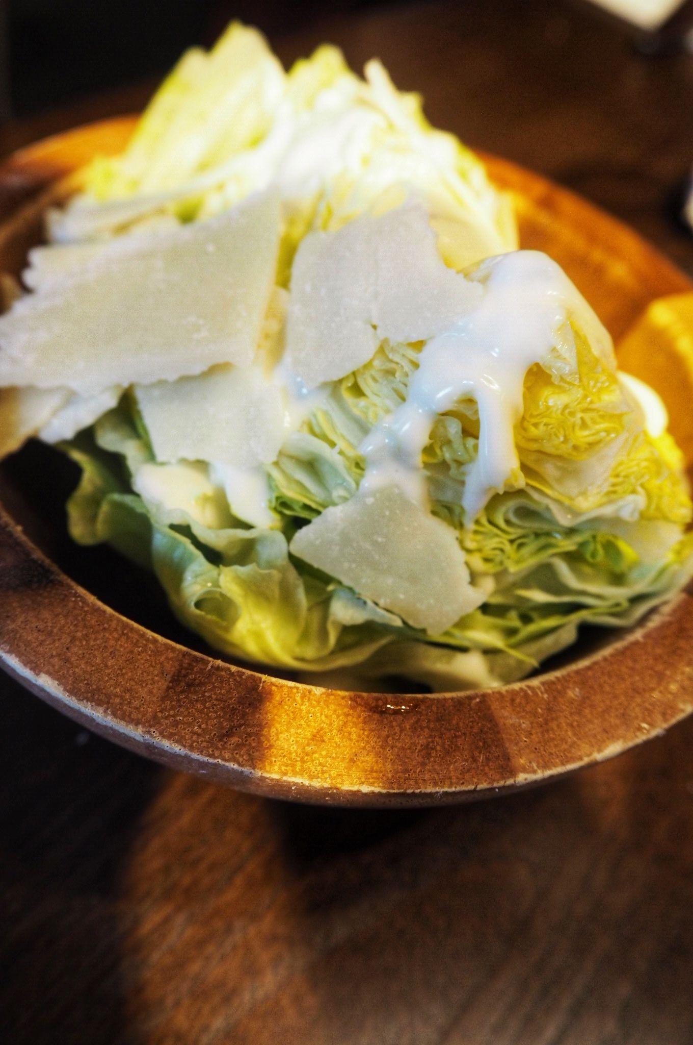 iceberg wedge salad Miller and Carter Milton Keynes
