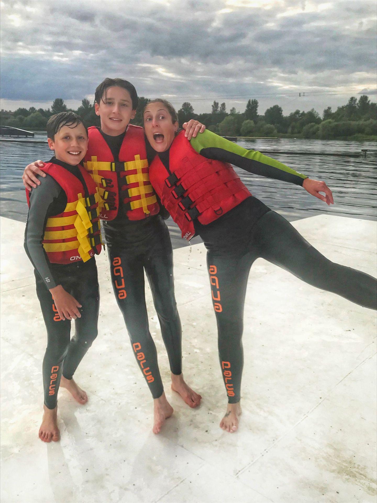 family fun Aqua Parcs Willen Lake Milton Keynes
