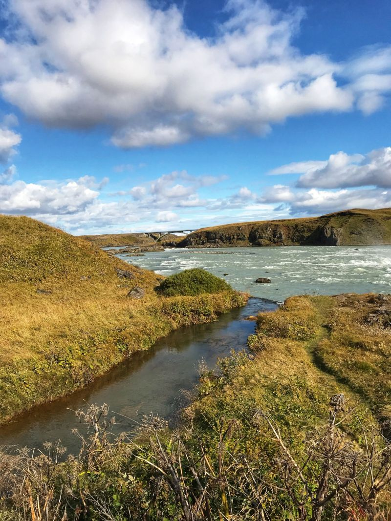 The water in Iceland may smell rotten but it tastes like spring water