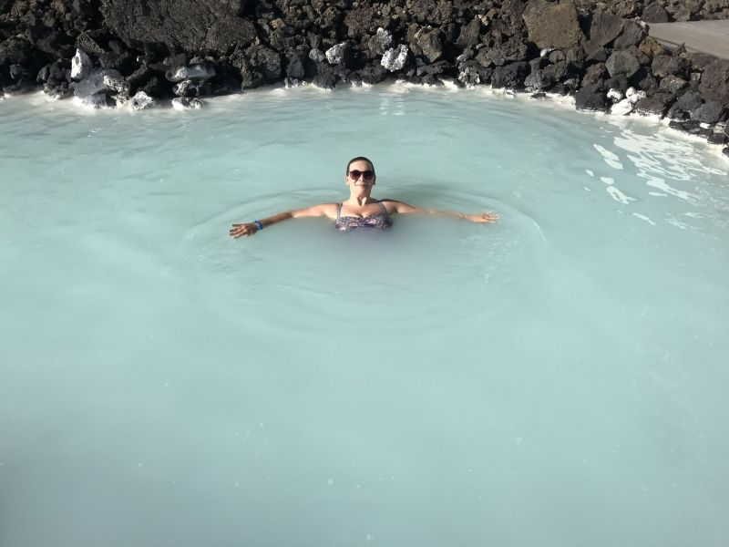 Birthdays in the Blue Lagoon do not come any better