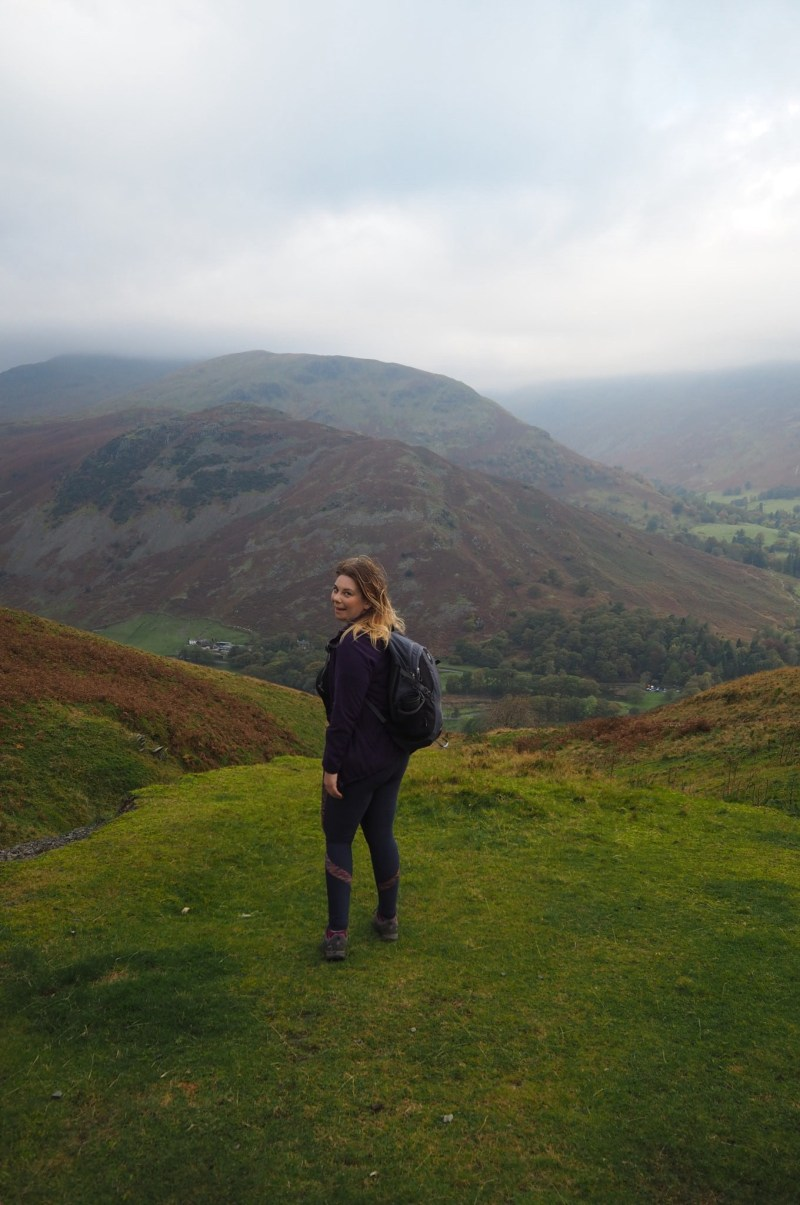 Climbing new heights out of my comfort zone in the Lake District
