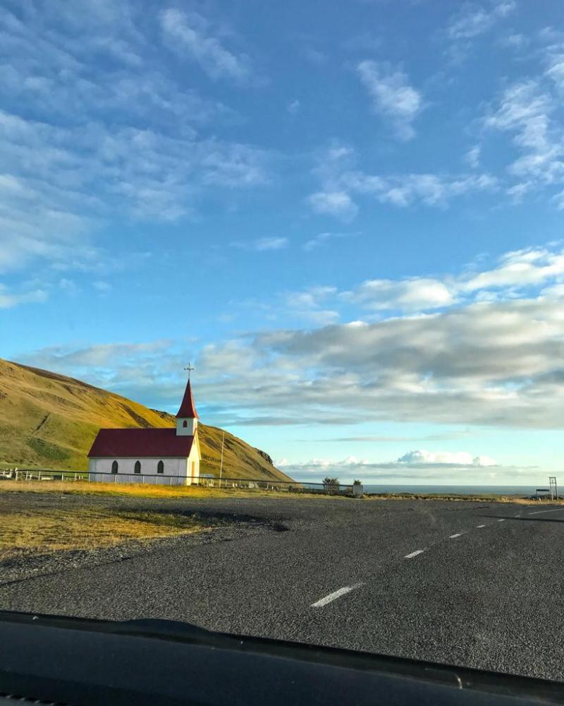 Road trip to Vik in Southern Iceland