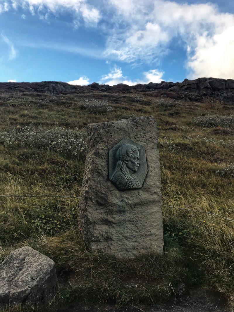 Sigríður Tómasdóttir Girl who saved Gullfoss Falls