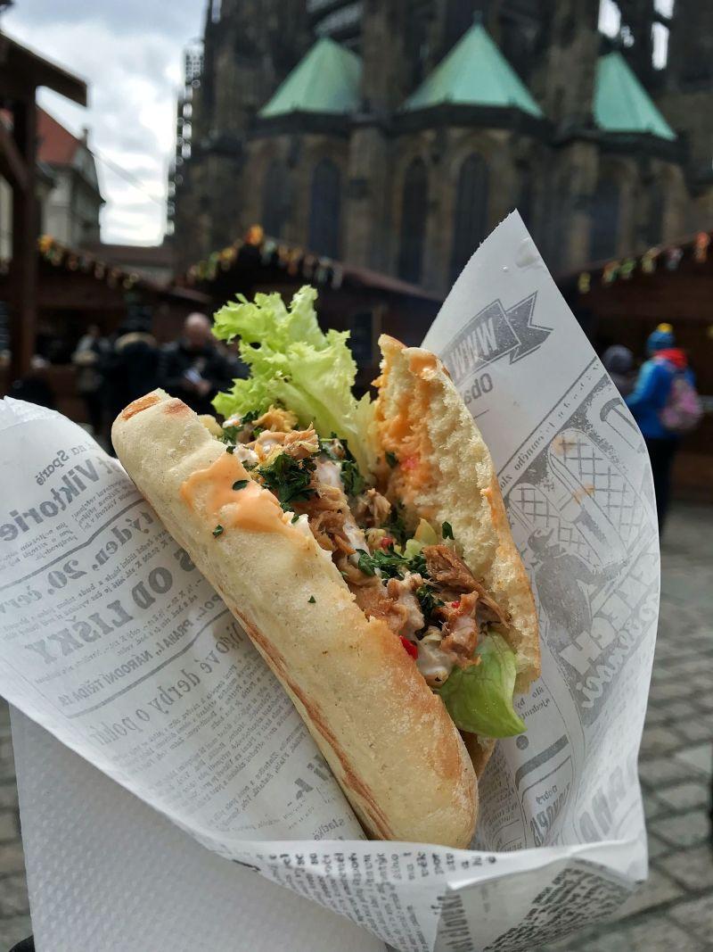 Prague Street food markets