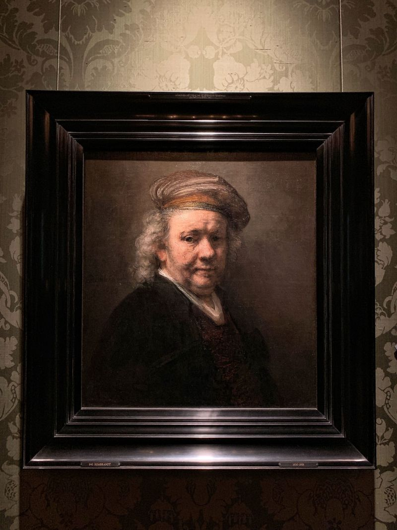 Rembrandt-Self-Portrait-Dutch-Golden-Age-Collection-Mauritshuis-The-Hague