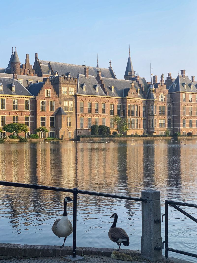 Scenic-views-of-Binnenhof-Political-buildings-in-The-Hague
