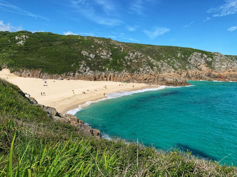 UK Bucket List - Porthcurno beach