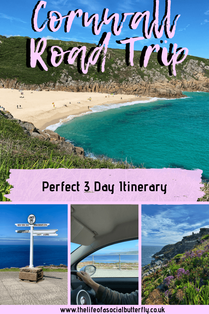 Buckle up, it's time to experience a fun-filled Southern Cornwall Road Trip with an itinerary to keep you occupied for 3 days in Cornwall…(map included!) #cornwallroadtrip #cornwallitinerary #cornwallthingstodo #roadtrip #cornwall #UK