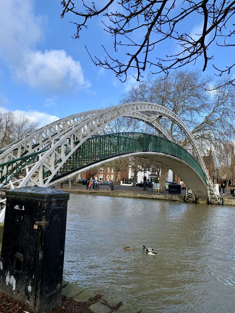 Embankment Bridge Bedford