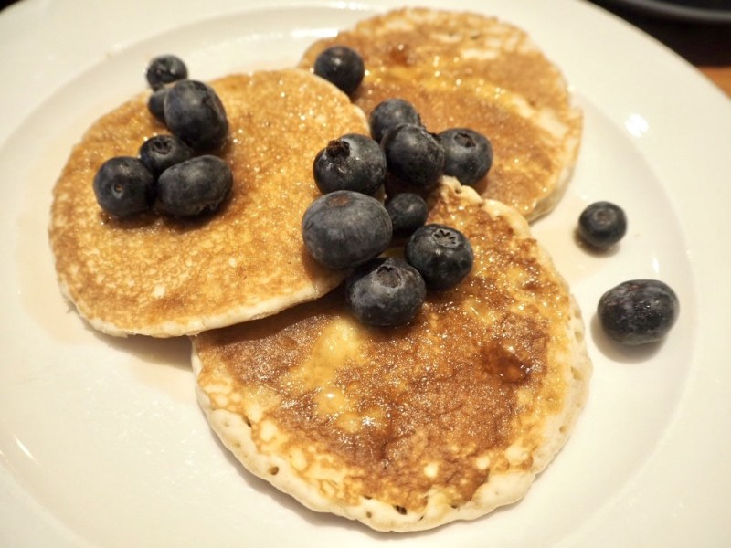 Blueberry Pancakes The Embankment Hotel Bedford Breakfast