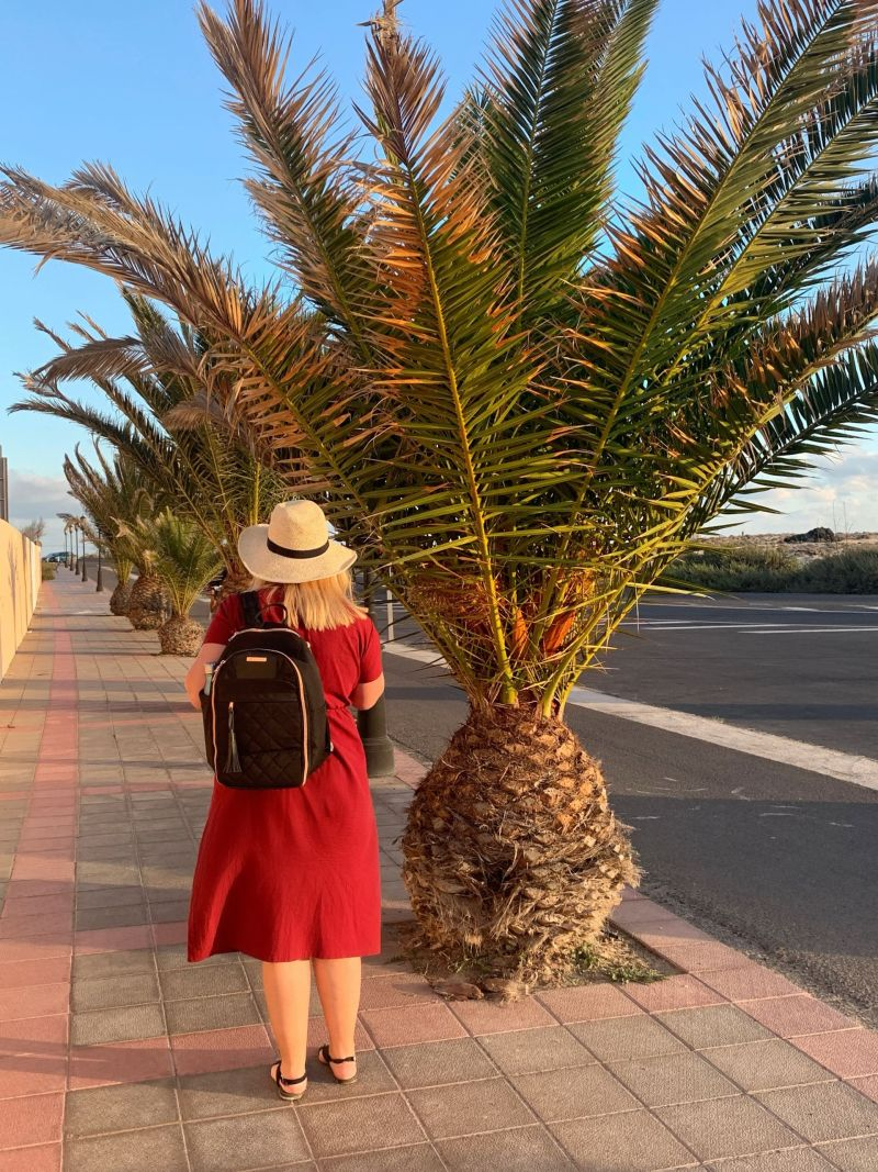 Me & My Travel Hack Backpack - Best Carry-On Bag for a Woman with Style