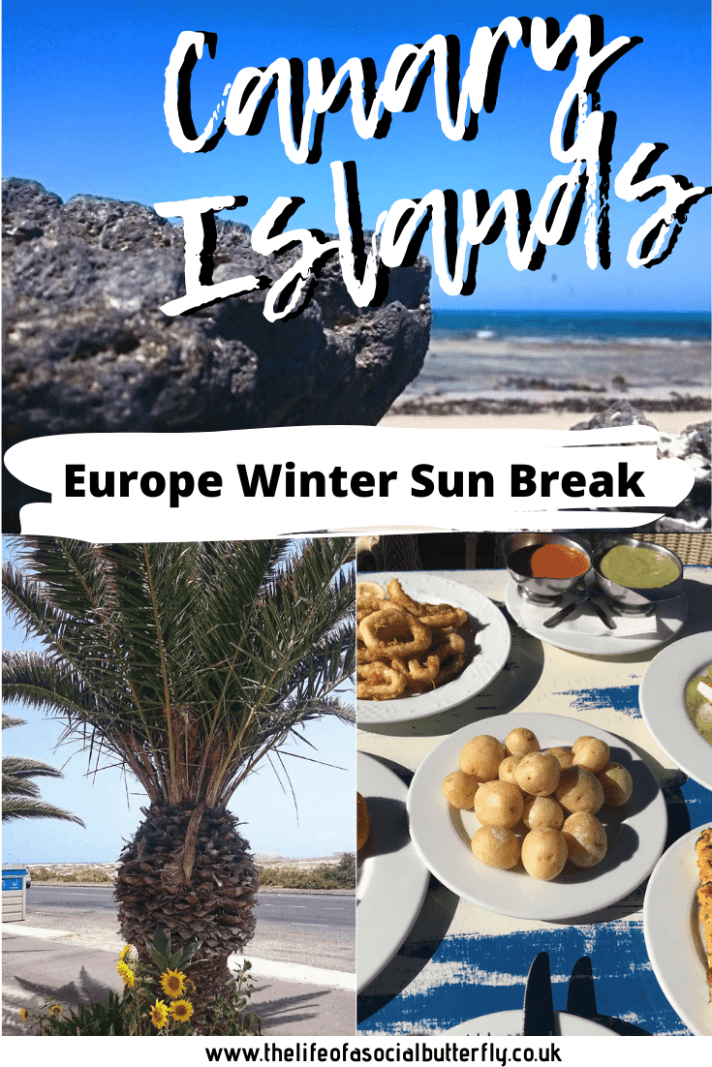 The Canary Islands are perfect for a warm winter break in Europe - Click through to find out more! #spanishislands #canaryislands #travel #holidays #europe #wintersun