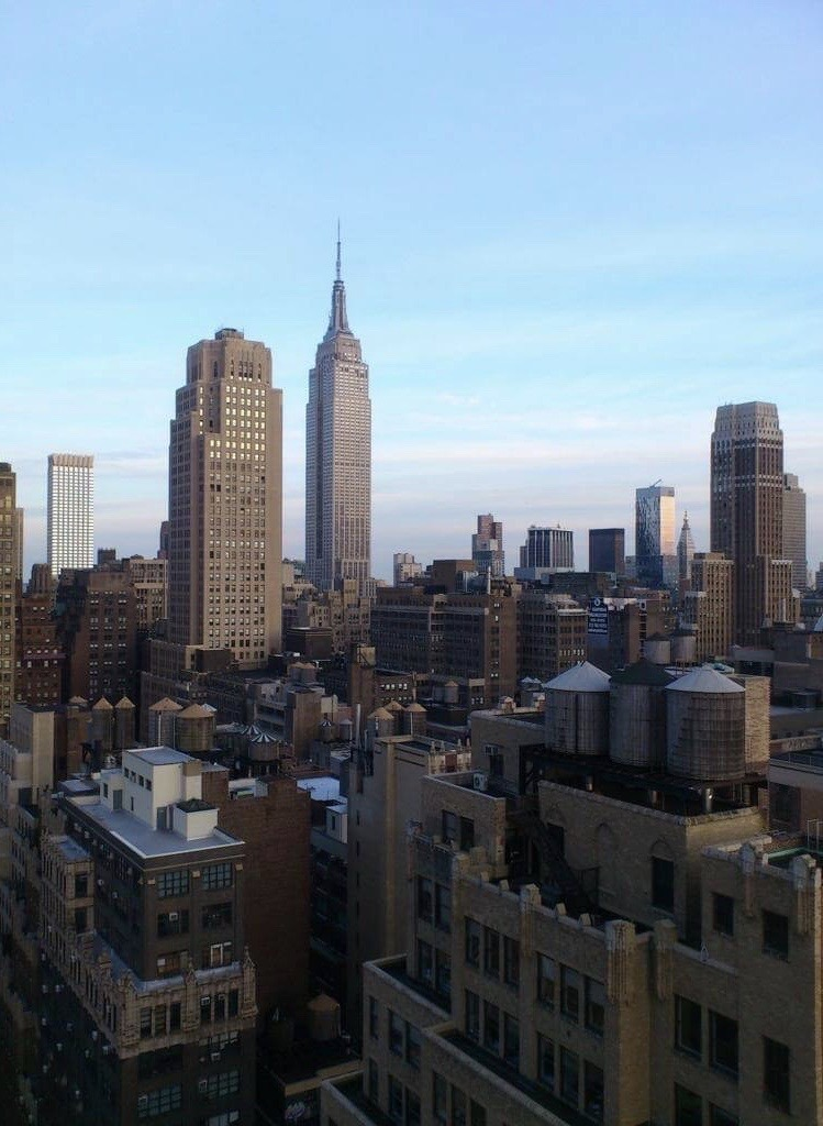 Empire State Building room upgrade view - join Corporate Hotel Rewards Membership