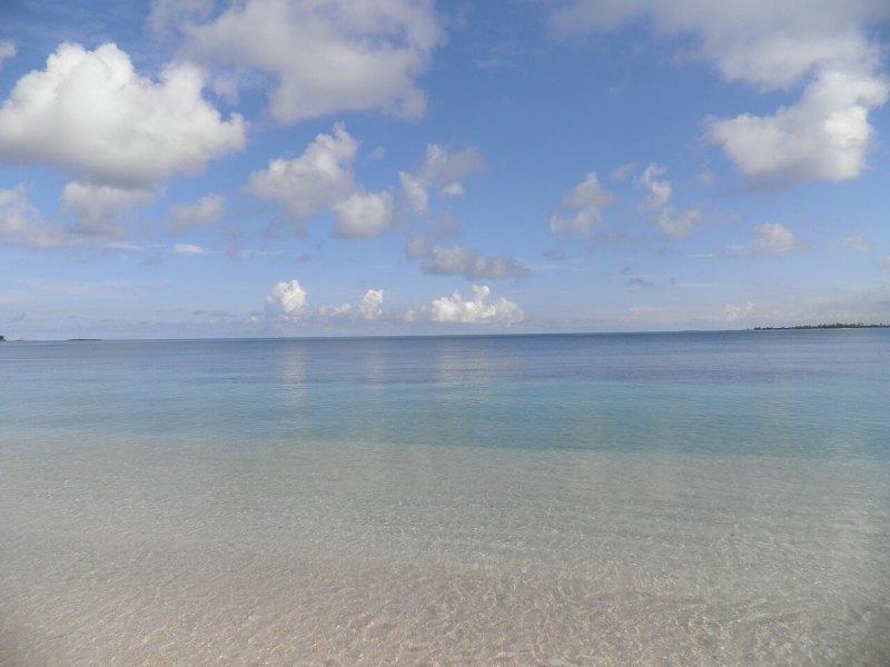 Bimini sandy beaches and turquoise waters