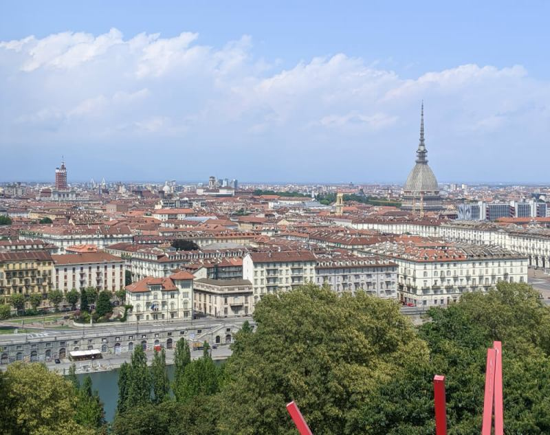 Turin city view - bucket list Italy