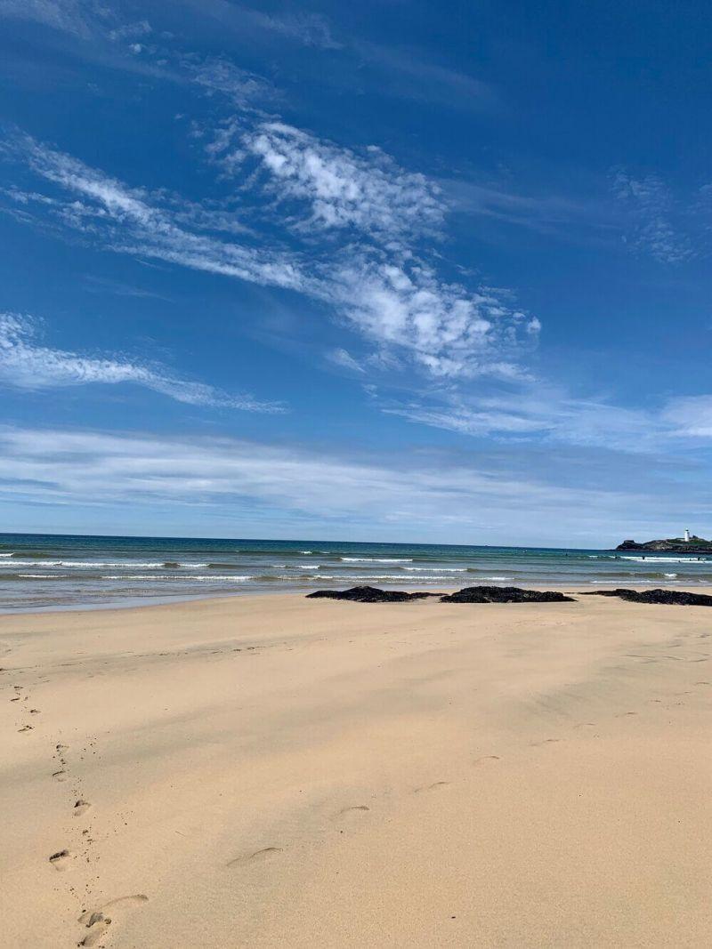 Gwithian Towans Beach Godrevy