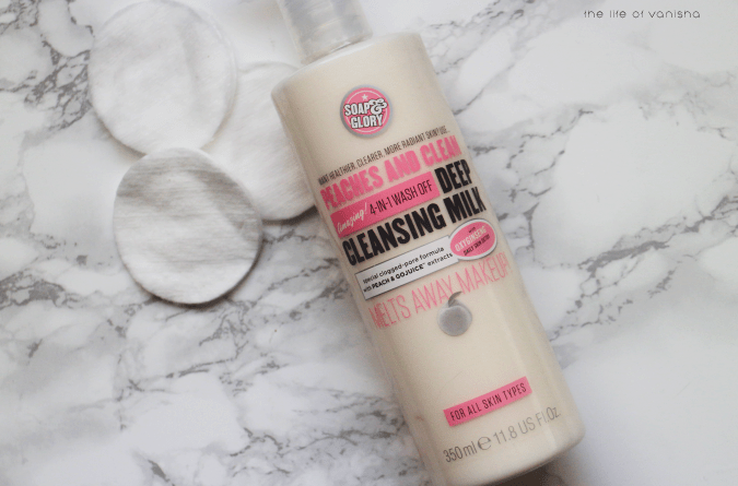 Image result for peaches and clean soap and glory cleanser