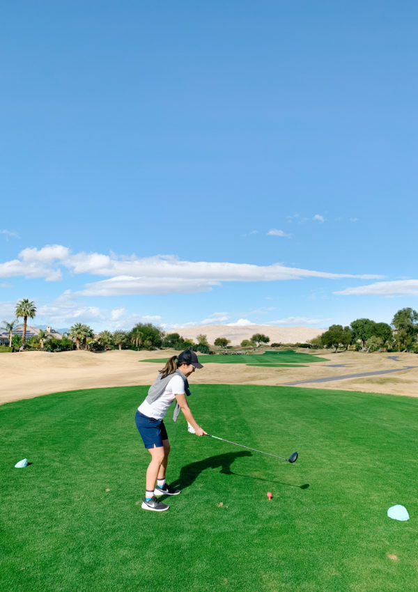 Golfing at Gary Player Signature Course, Palm Springs 2019