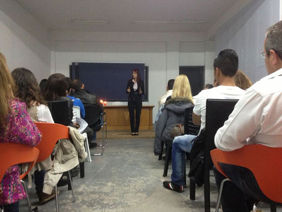 Elena Georgiou seminar on motivational people