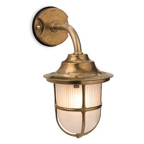 cloey solid brass outdoor lantern 0766 20br