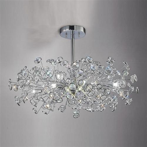 Savanna Crystal Ceiling Light Il31404  The Lighting