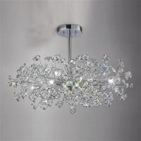 Savanna Crystal Ceiling Light Il31404   The Lighting ...