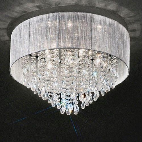 Royale Crystal Flush Ceiling Light Fl2281/7