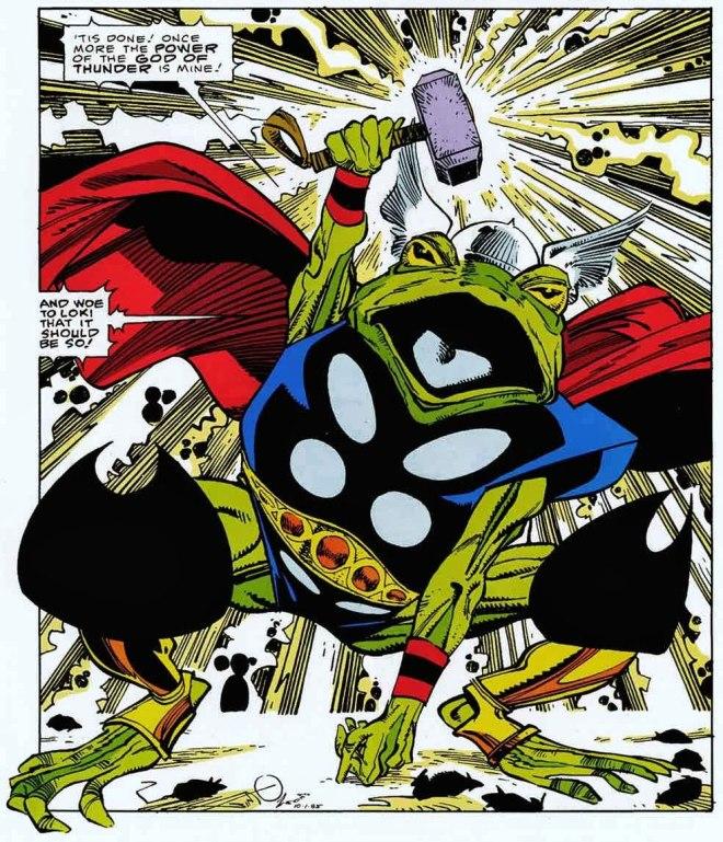Frog Thor Walter Simonson