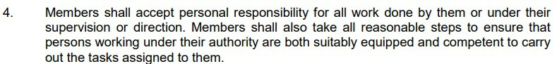 from IET Rules of Conduct