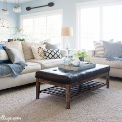 Lake House Living Room Ideas Country Style Paint Decor Finally Revealed The Lilypad Cottage
