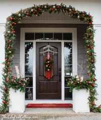 Vintage Sled Front Door Decor
