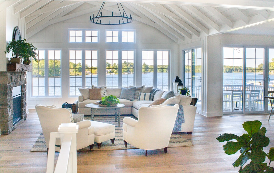lake house living room ideas for furniture in decor the lilypad cottage white